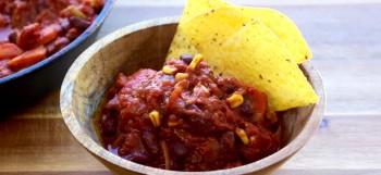Amazing vegan chili