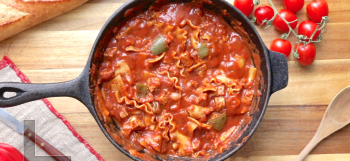 One Pot Vegan Lasagna Casserole
