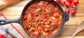 One Pot Vegan Lasagna Casserole