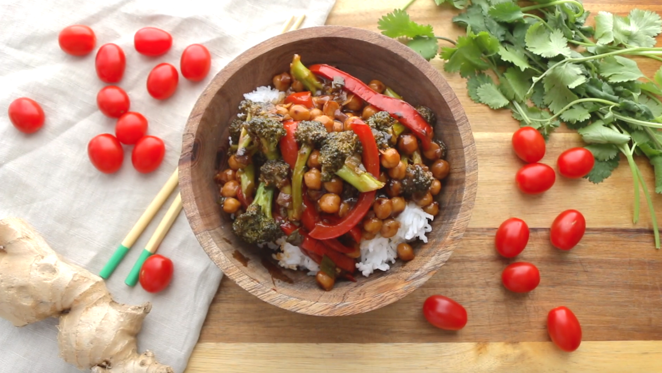 Generall Tso's Chickpeas