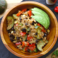One pot vegan burrito bowl