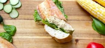 sandwich au foulet