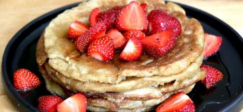 3 ingredients gluten free pancakes