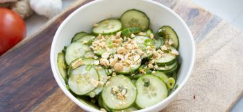 Salade de concombre à la Thaï